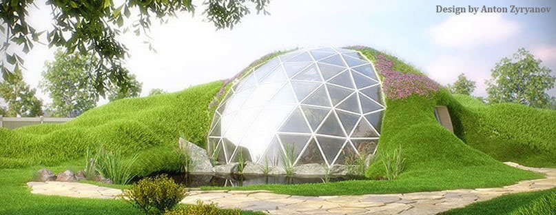 Dome Home Design Ideas: Biodome Glass Geodesic Domes