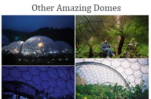 Geodesic dome homes - The futuristic dome house - Eco modern dome homes - Biodome House - Geodesic dome house designs - Glass dome homes