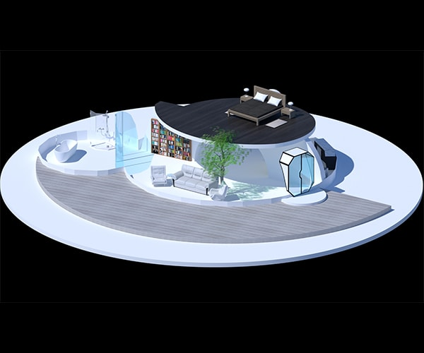 Project Gridless Geodesic Homes: The Dome House Of The Future