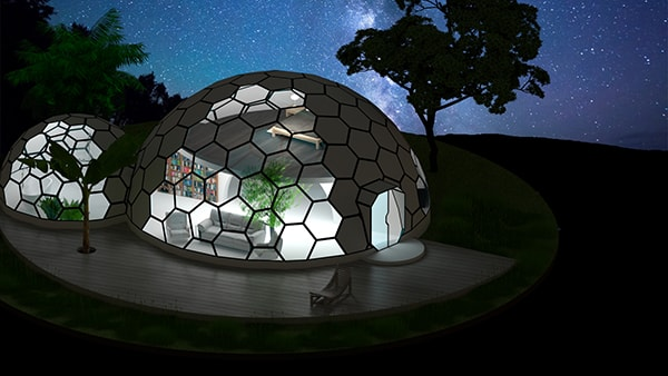 Remarkable Dome Homes Biodome Glass Geodesic Domes Eco Dome House Download Free Architecture Designs Viewormadebymaigaardcom
